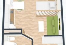 Квартира - студия 26 м под сдачу