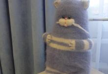 Лавандовый кот в лавандовой детской
