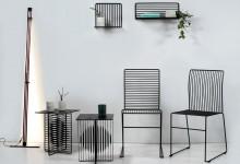 Мебель в полоску: вертикали и горизонтали