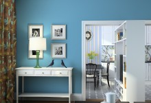 Лёгкий интерьер двухкомнатной квартиры - 65м2 в доме серии Д-25