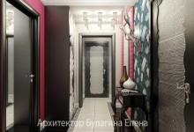 Интерьер холла в стиле ар-деко