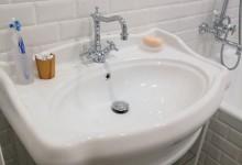 Маленькая ванная в ретро стиле (часть 2)