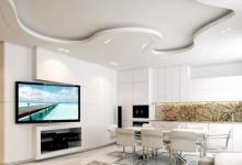 Многоуровневые потолки из гипсокартона: виды и технология монтажа