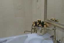 Мой первый опыт ремонта. Ванная комната в светлых тонах.