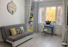 Моя гостиная + кабинет + спальня