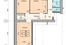 Муки выбора квартиры)) Перепланировка трешки в четырешку