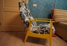Наш дом. Реставрация старого кресла...
