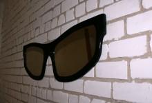 Настенное зеркало-очки