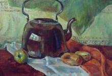 Натюрморт с чайником.