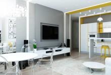 Не люблю серый, но квартира нравится :)