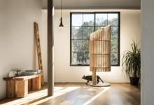 Современный домик-дерево для кошки