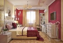 Неоклассическая спальня в Севастополе