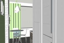 Ниша в коридоре для стиралки и микроволновки. Как в итоге получилось