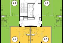 Новая 2-к квартира 63кв.м для родителей, дочки 5 лет и сына 1,5 годика