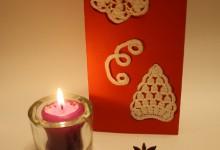 Объемная открытка на Новый год