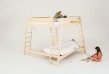 Новый взгляд на двухъярусную кровать