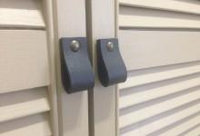 Ещё один шкаф с жалюзийными дверцами