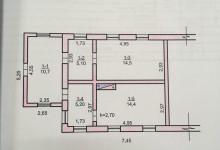 Нужна помощь в перепланировке старого дома !