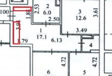 Нужна ваша помощь в планировки коридора!
