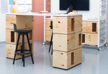 Офисные пиксели - многофункциональная мебель-трансформер