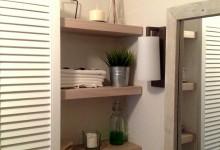 Оливковая ванная с воробьем
