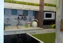 Опять кухня в хрущевке и бюджетный ремонт)))