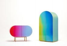 Шкаф, меняющий цвет