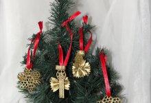Новогодние украшения своими руками, или Ода макаронам
