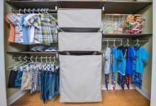 Особенности детской гардеробной