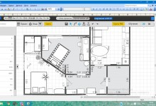 Перепланировка 1к квартиры 58м для 4 человек-нужна критика