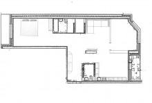 Перепланировка 2-х в 3-х комнатную квартиру.