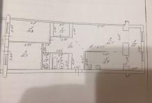Перепланировка 2к в 3х комнатную 94 квадрата