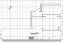 Перепланировка 3-х комнатной квартиры в 4-х комнатную с блекджеком и сауной.