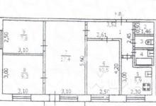 Перепланировка 4-х комнатной квартиры