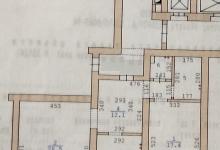 Перепланировка из 2 комн в 3 комнатную ( 78кв.м)