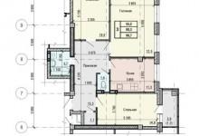 Перепланировка из 3-х комнатной в 4-х комнатную