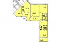 Помогите с планировкой в новой квартире для 2 людей среднего возраста