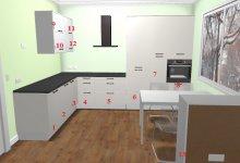 Покритикуйте проект кухни Ikea. Кухня 13 кв.м.