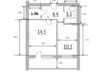 Получится ли зонировать комнату 14.5 кв.м. (спальная кровать+гостиный диван под телевизор)