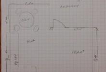 Помогите определить  диван в кухне-гостинной