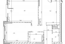 Помогите определить окончательный вариант как перекроить квартиру в трешку