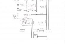помогите пожалуйста расставить мебель в спальне 9,7 кв.м