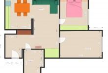 Помогите разместить мебель в гостиной, телевизор и диван.