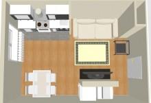 Помогите с перепланировкой трехкомнатной квартиры для семьи с двумя разнополыми детьми.
