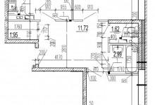 Помогите с планировкой 2-х комнатной кв.