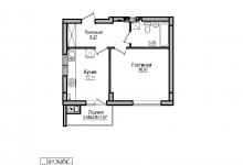 Помогите в перепланировке (студия+комната из однушки 45 кв.м)