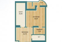 Как узаконить перепланировку однокомнатной квартиры в