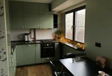 Домик для Евы. Совсем не белая кухня-гостиная