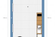 Посоветуйте как распланировать кухню-гостиную-кабинет