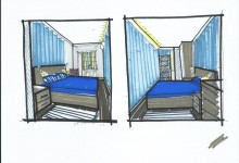 Пост 6. Спальня. Трешка в брежневке для 2 взрослых и троих малышей. Серия П-49